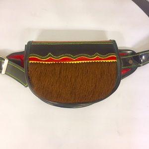 John Agudelo Jerico Leather Waist Pack